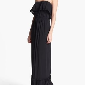 Nordstrom Felicity & Coco Ruffled Strapless Maxi